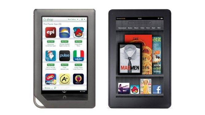Kindle Fire vs Nook Tablet PC: Which Is Better? [VIDEO]