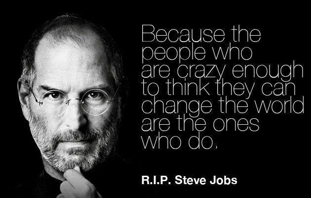 steve jobs motivational quotes the nology