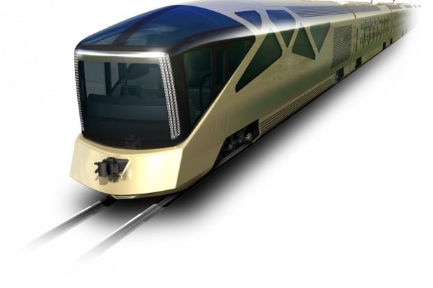 luxury Japanese train