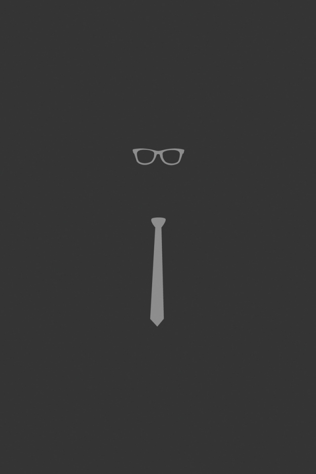 tie_glasses_graphic_minimalist_66167_640x960