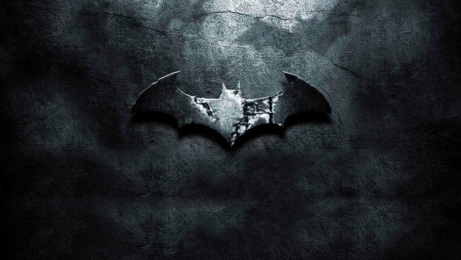 batman sign background