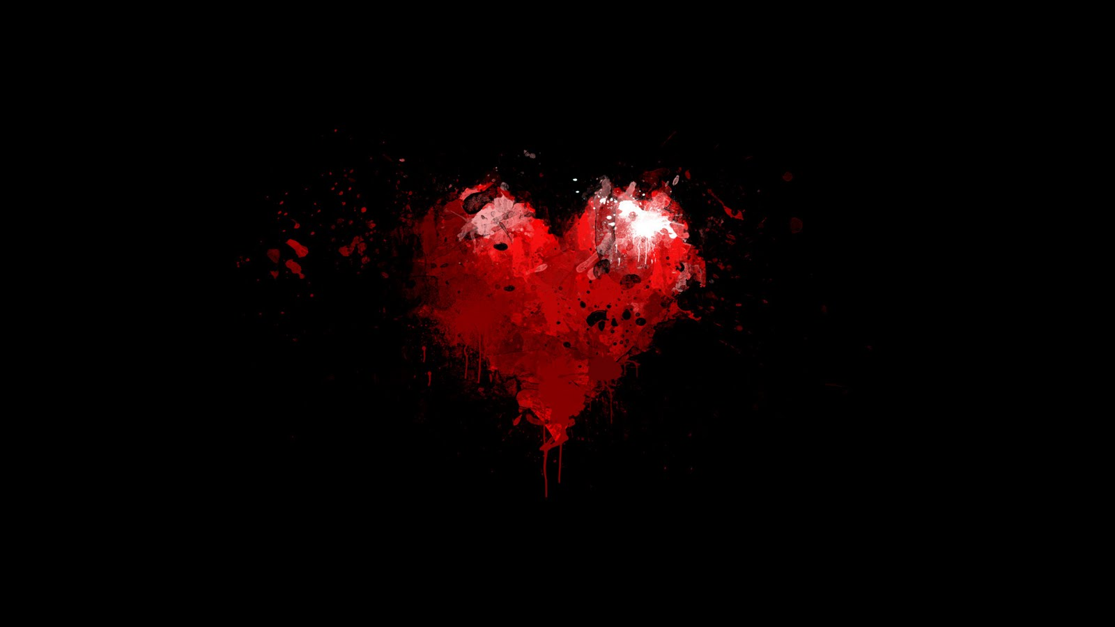 Love Heart Wallpaper Background 3d : 13 Awesome Black and Red Wallpapers HD - The Nology