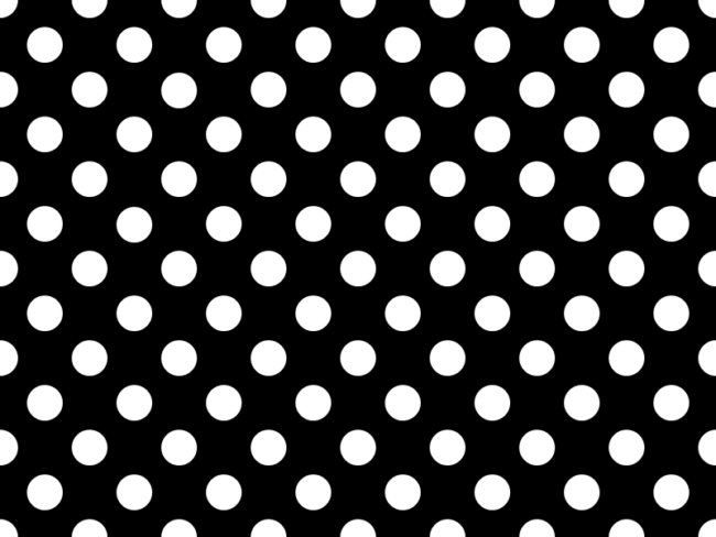 polka wallpaper black