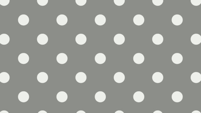 polka wallpaper grey