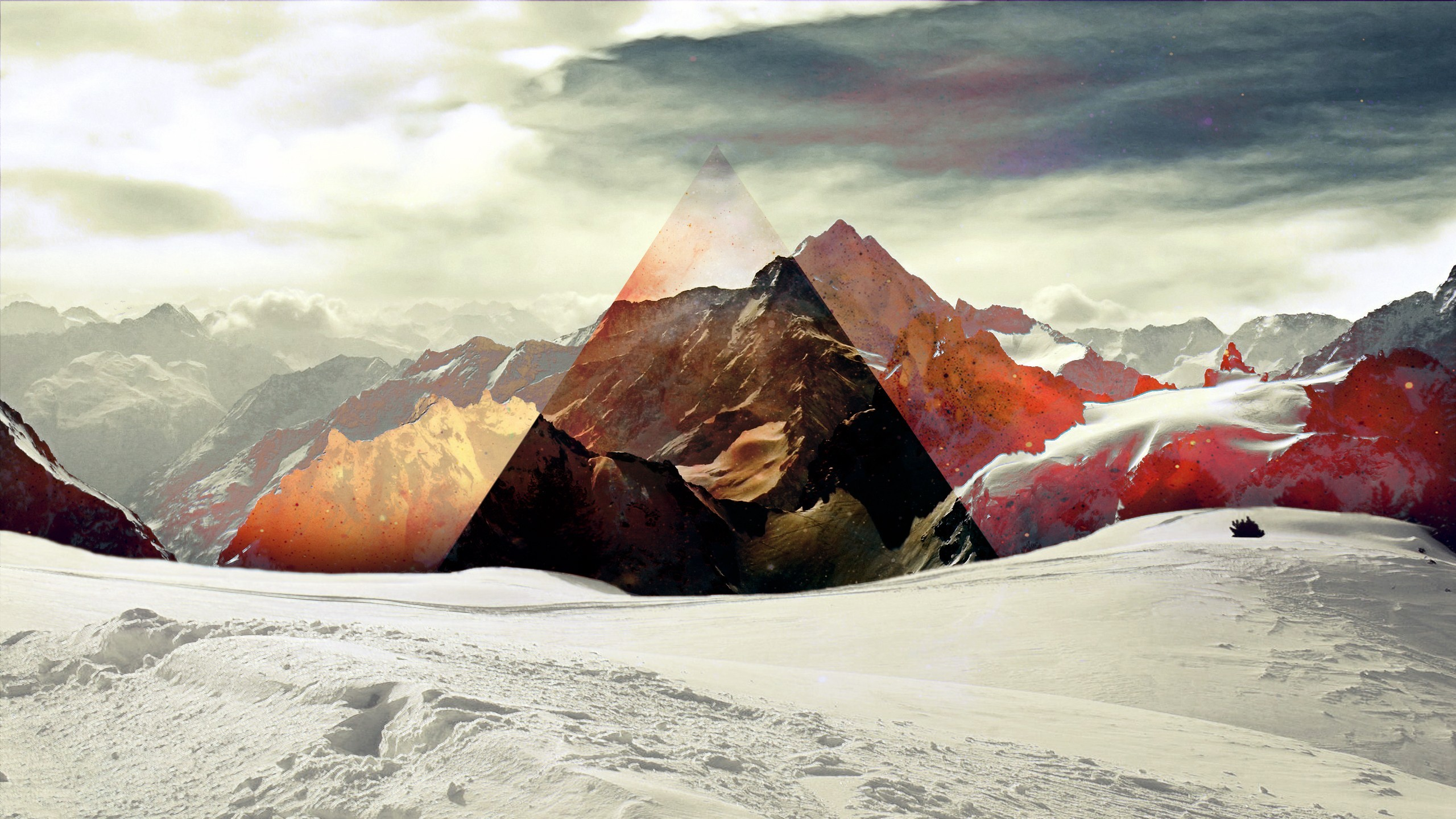 Beautiful Wallpaper Mountain Hexagon - mountain-polyscape  Pictures_483479.jpg