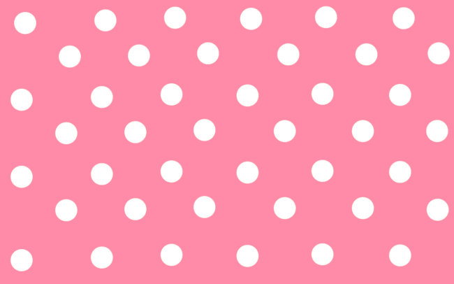 polka wallpaper pink