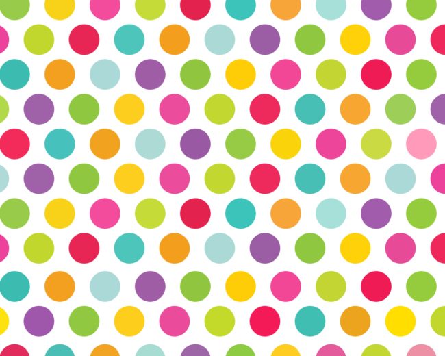 polka wallpaper multi