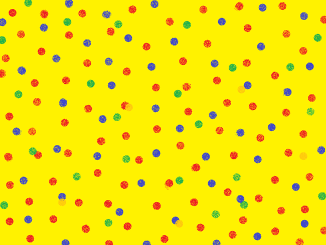 polka wallpaper
