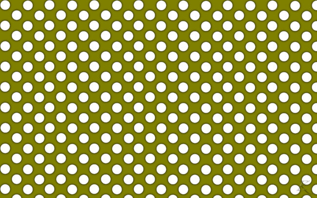 polka wallpaper green